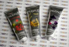 Taupe & Pearl: UK Affordable Beauty and Makeup Blog: Wine Inspired Caudalie Hand & Nail Creams