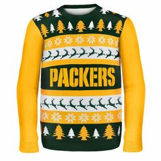 Green Bay Packers Ugly Christmas Sweater