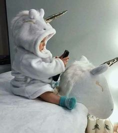 Riding the unicorn Riding the unicorn - Cute Adorable Baby Outfits So Cute Baby, Baby Kind, Cute Kids, Cute Babies, Little Babies, Little Ones, Foto Baby, Cute Baby Pictures, Beautiful Babies