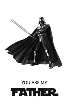Father's Day Star Wars Card