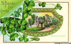 vintage st patricks day cards | ... Pics / Gifs / Photographs: Vintage Saint Patrick's Day greeting cards