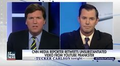 Tucker Carlson CONFRONTS CNN Host Over 'Fake News,' It's ALL On Video