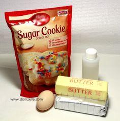Diorizella Events and Crafts: Galletas de azúcar y queso crema #Navidad