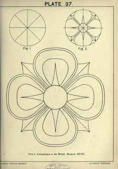 see site for many more - 1895 - Cusack's freehand ornament. A text book with chapters on elements, principles, and methods of freehand drawing, for the general use of teachers and students . by Armstrong, Charles Longarm Quilting, Machine Quilting, Zentangle Patterns, Embroidery Patterns, Applique Designs, Quilting Designs, Art Nouveau, Ornament Drawing, Landsknecht