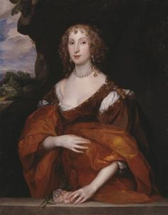 Sir Anthony Van Dyck 'Portrait of Mary Hill, Lady Killigrew', 1638 She was a noblewoman and also a famous pirate.