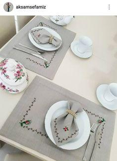 Servis Cross Stitch Kitchen, Modern Cross Stitch, Cross Stitch Designs, Cross Stitch Patterns, Embroidery Flowers Pattern, Cross Stitch Embroidery, Hand Embroidery, Crochet Mat, Thread Crochet