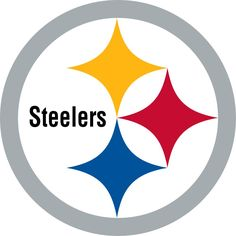 Pittsburgh Steelers Decals Set of 2 Cornhole Board Decals 12 inch
