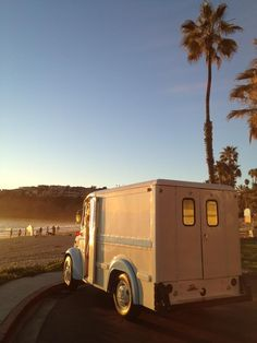 Vintage Divco 300C restored by Laguna Vintage in Laguna Beach, CA
