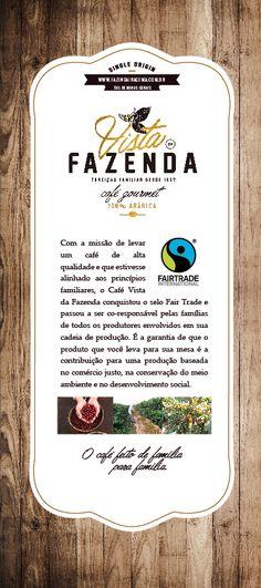 History of Vista da Fazenda Coffee. Efforts for a greater Fairtrade community.