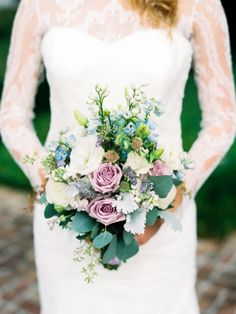 Peachtree House: French Blue and Lavender Wedding Inspiration |