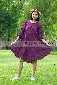 77f99210965 No.002 - Size XS-5X Bohemian Gypsy Plus Size Maternity Dress Gauze Cotton  Clothing