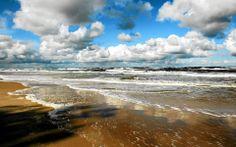 The Baltic Sea (Poland) Poland Travel, North Sea, Baltic Sea, Mediterranean Sea, Wonders Of The World, Places To Visit, Coast, Europe, Backyard