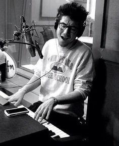 I sooooo love it when he wears this jumper