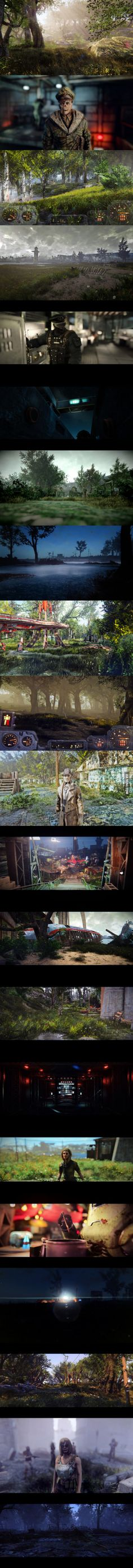 Fallout 4 with mods… I'm sure that asking my PC to run this would be classified as abuse in some circles…