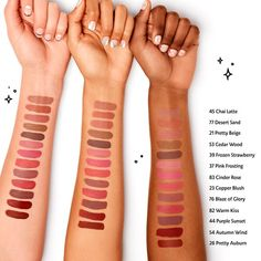What it is: A silky, long-lasting lip stain that keeps lips covered with bold color from AM to PM—no need to reapply or touch up throughout the day. What it does: This bestselling, high-coverage lip color glides on smooth and transforms from Sephora Lip Stain Swatches, Sephora Brushes, Sephora Cream Lip Stain, Sephora Eyeshadow Palette, Sephora Mask, Sephora Liquid Lipstick, Kylie Lip Kit Swatches, Beauty, Makeup Lips