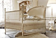  wonderful, baby bed.. This would have to be turned into another piece when she grows up.. am in love..