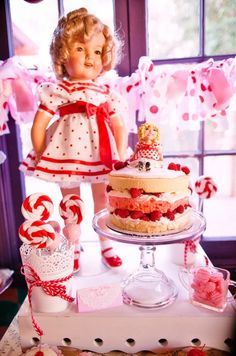 Vintage Shirley Temple Party #shirleytemple #party