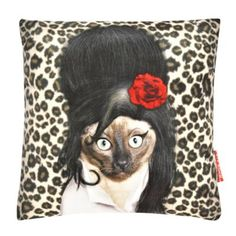 We Love Cushions Pets rock tattoo cushion- at Debenhams Mobile Rock Tattoo, Lancaster, Printed Cushions, Debenhams, Our Love, Hippie Boho, Crochet Hats, Throw Pillows, Cool Stuff