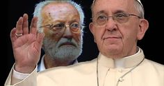 Scalfari and Bergoglio: Close collaborators united in a common cause Scalfari - Bergoglio