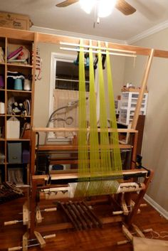 Warping Valet in use in my studio