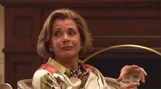 Lucille Bluth eye roll