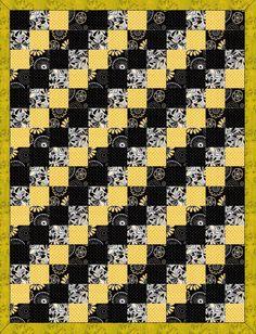 Mellow Yellow Patch Pre-Cut Quilt Kit Blocks – Quilt Kit Shop