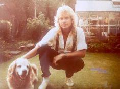 Steve Clark and dog Def Leppard, I Love Mcr, My Love, Rock Music, My Music, Steve Clarke, Steve White, Phil Collen, Rick Savage