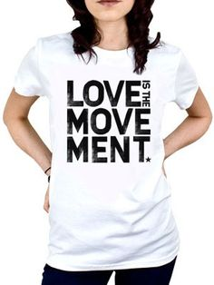 """To Write Love On Her Arms T-Shirt """"Love is the Movement"""""""