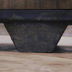 Kommode Sideboard Vintage Loft Metall Massivholz B140cm 80kg NEU In Nordrhein Westfalen
