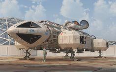 Space 1999 Eagle Transporter . Espacio 1999 Águila de Transporte .     Image Autor . Autor de la Imagen: John Austin