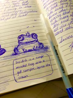 Art Drawings Sketches, Cute Drawings, Frog Pictures, Frog Art, Cute Frogs, Funky Art, Toad, Art Sketchbook, Drawing Reference