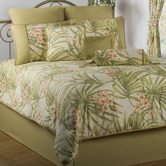 Sea Island Tropical Comforter Bedding Queen Setsqueen