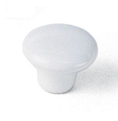 Laurey Cabinet Knobs, 1 1/4 inches Ceramic Knob - White