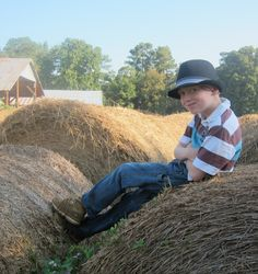 This is how you roll on a farm