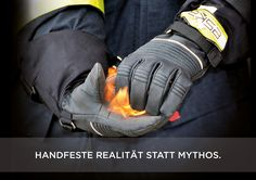 Firefighting glove PHÖNIX 5* - Extreme conditions require extraordinary protection. #Feuerwehrhandschuh #Eskagloves #Firefightinggloves #Firefighter #Feuerwehr #Ausrüstung #Savelives #protectpeople Firefighter, Gloves, Sneakers, How To Wear, Fashion, Fire Department, Tennis, Moda, Slippers