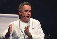 Ferran Adrià at San Sebastián Gastronomika 2010. All photographs by Gerry Dawes©2010. Reproduction of these photographs is prohibited without written permission. Contact gerrydawes@aol.com for publication rights. Website: http://www.gerrydawesspain.com