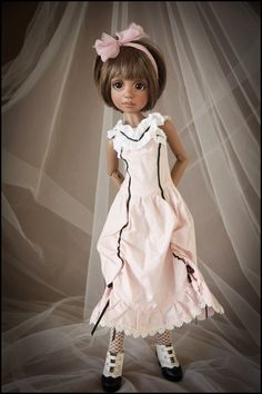 Mlik Chocolate Ruby MSD BJD by Liz Frost, Sold Out/Limited Edition