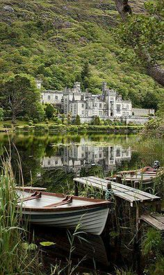Abadia de Kylemore - Irlanda