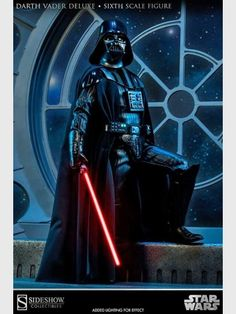 Star Wars Darth Vader Deluxe Sixth Scale Figur 34 cm