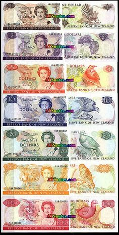 New Zealand Currency | New Zealand paper money catalog and New Zealand currency history