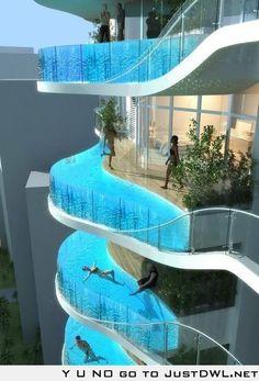 Future apartment complex / hotel