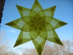 Waldorf Window Star - Tutorial