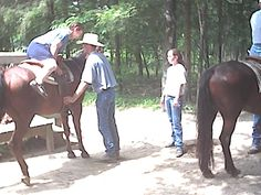 A chance to go horseback riding in a State Park in Missouri.