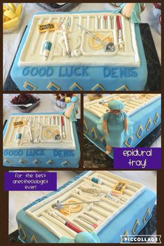 Anesthesia themed cake!