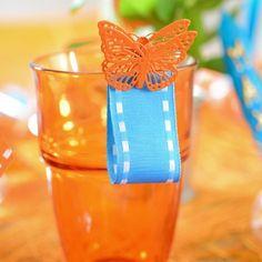 Marcasitios mariposa (x 4)