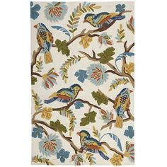 We think a perfect nesting spot for our cheerful winged friends would be in your entryway or patio. Our hand-tufted Birdy Branch Rug is strong, colorfast and resistant to mildew and UV damage—so it makes a charming accent indoors or out. A Pier 1 exclusive.