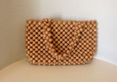 60s Purse/ Wooden Beaded Purse by Jana of Japan (I owned one or a similar one)
