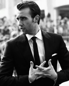 Matthew Lewis.  WOW!  Looks more like 007 then Neville Longbottom.
