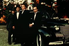 vintage everyday: 30 Amazing Photos from Behind the Scenes of 'The Godfather'