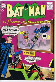 Batman #131; Issued: April, 1960; Synopsis: A celebration of Brotherhood Week and Hawaii as our 50th state.  www.ephemeritor.com